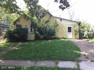 Baltimore Single Family Home For Sale: 8118 Bullneck Road