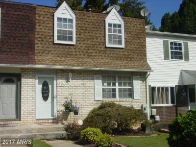Randallstown Townhouse For Sale: 12 Mainview Court