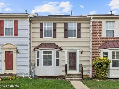 Randallstown Townhouse For Sale: 8914 Harkate Way