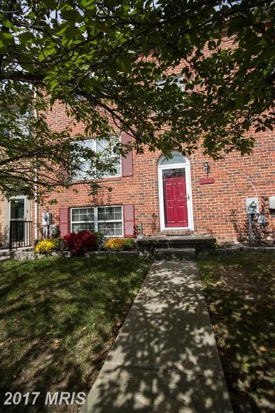 Perry Hall Townhouse For Sale: 5038 Hilltop Acres Road