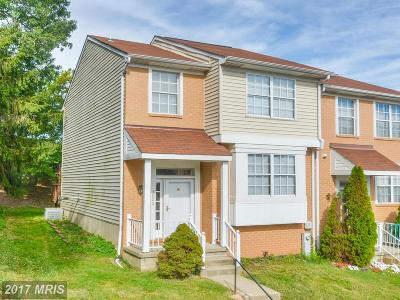Baltimore Townhouse For Sale: 3800 Glenview Terrace