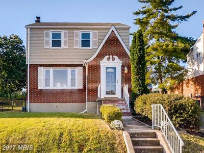 Baltimore Single Family Home For Sale: 8006 Caradoc Drive