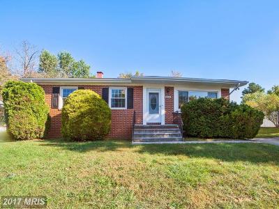 Randallstown Single Family Home For Sale: 8622 Pilsen Road