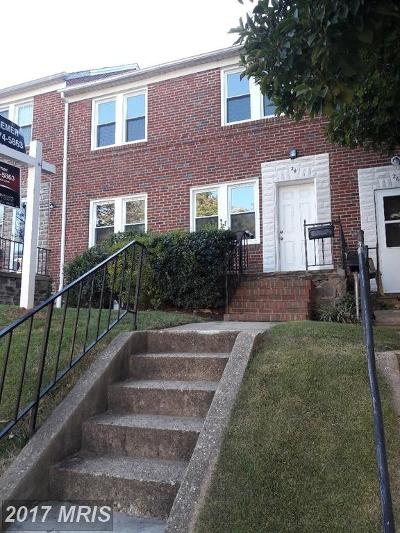 Catonsville Condo For Sale: 24 Briarwood Road
