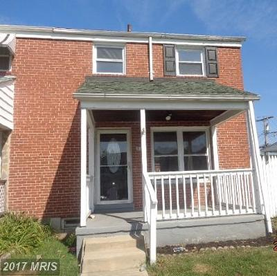 Dundalk Condo For Sale: 3310 Wallford Drive