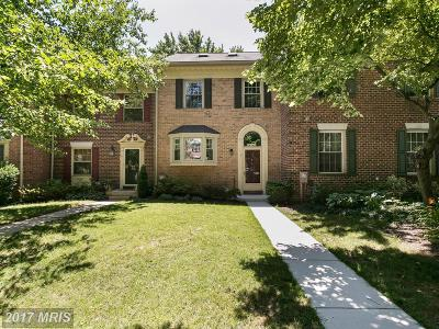 Baltimore Townhouse For Sale: 3 Victoria Falls Court