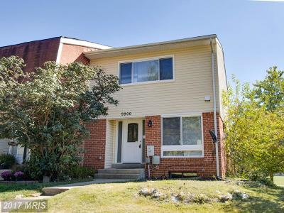 Randallstown Townhouse For Sale: 9900 Shoshone Court