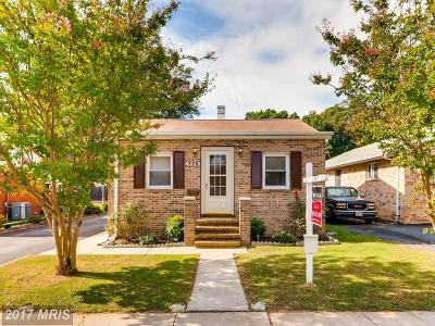 Baltimore Single Family Home For Sale: 326 Homberg Avenue