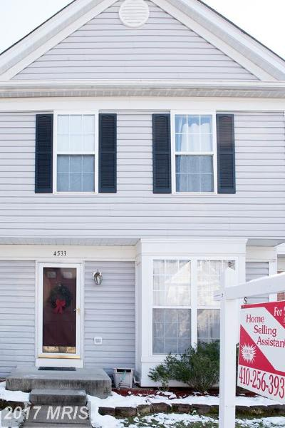 Owings Mills Townhouse For Sale: 4533 Ingham Road