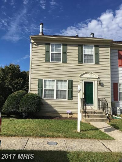 Randallstown Townhouse For Sale: 8910 Harkate Way