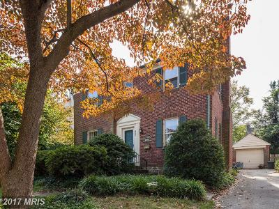 Baltimore Single Family Home For Sale: 807 Tred Avon Road