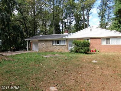 Randallstown Single Family Home For Sale: 3804 Marriottsville Road