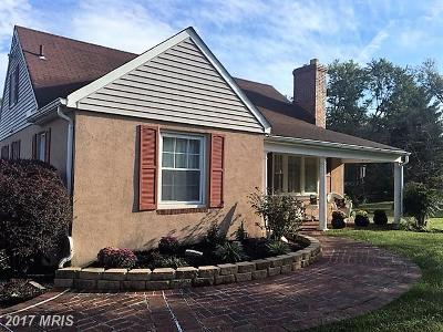 Reisterstown Single Family Home For Sale: 524 Cockeys Mill Road