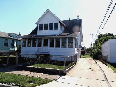 Baltimore MD Single Family Home For Sale: $154,900