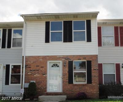 Reisterstown Townhouse For Sale: 653 Glynock Place