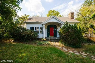Reisterstown Single Family Home For Sale: 117 Hanover Road