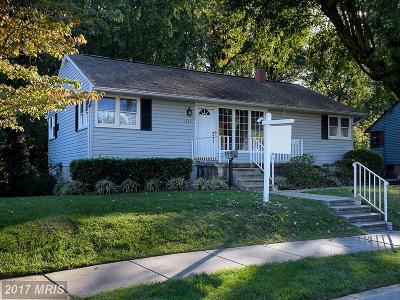 Baltimore Single Family Home For Sale: 1211 Brandford Road