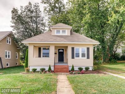 Towson Single Family Home For Sale: 106 Center Avenue
