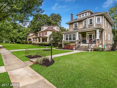 Baltimore Single Family Home For Sale: 17 Overbrook Road