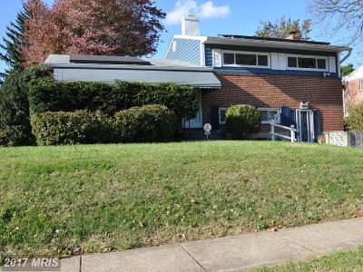 Catonsville Single Family Home For Sale: 1000 Kent Avenue