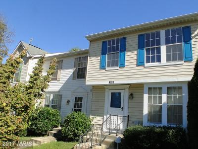 Randallstown Townhouse For Sale: 9521 Painted Tree Drive