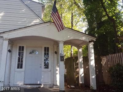 Towson Townhouse For Sale: 1 York Road