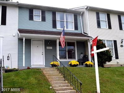 Reisterstown Townhouse For Sale: 12269 Bonmot Place