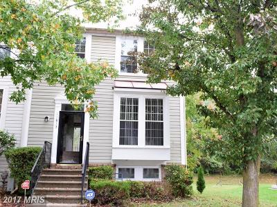 Reisterstown Townhouse For Sale: 11813 Maren Court