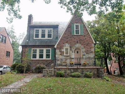 Baltimore Single Family Home For Sale: 722 Anneslie Road