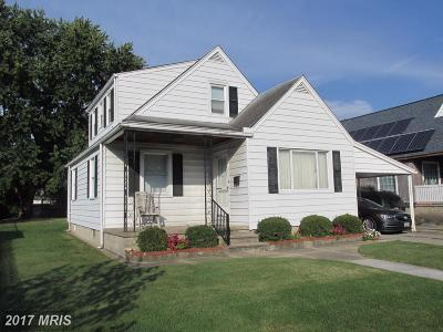 Baltimore Single Family Home For Sale: 2706 Gray Manor Terrace