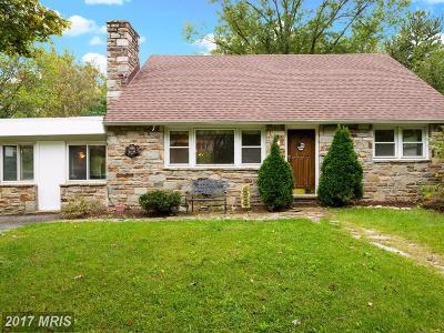 Baltimore Single Family Home For Sale: 6728 Glenkirk Road