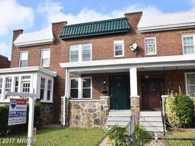 Baltimore Condo For Sale: 6754 Woodley Road