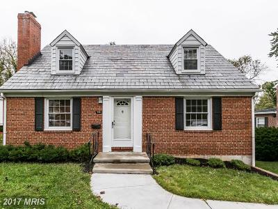Towson Single Family Home For Sale: 726 Stevenson Lane