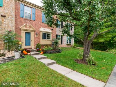 Baltimore Townhouse For Sale: 31 Bryce Court