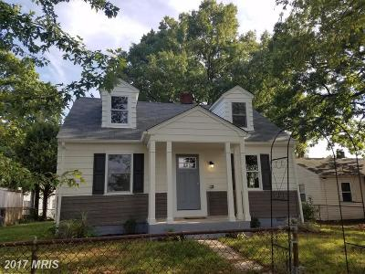 Essex Single Family Home For Sale: 1737 Eastern Boulevard