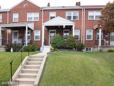 Baltimore Single Family Home For Sale: 7009 Reed Road