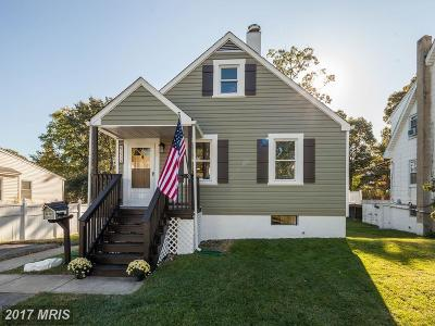 Baltimore Single Family Home For Sale: 2919 Hiss Avenue