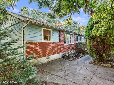 Single Family Home For Sale: 311 Hammershire Road