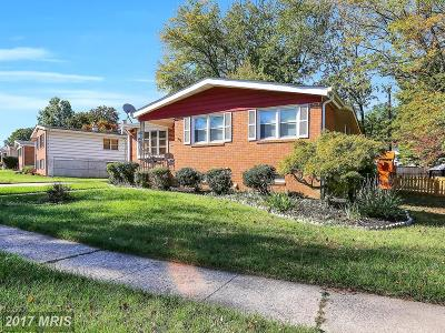 Randallstown Single Family Home For Sale: 3818 Pikeswood Drive
