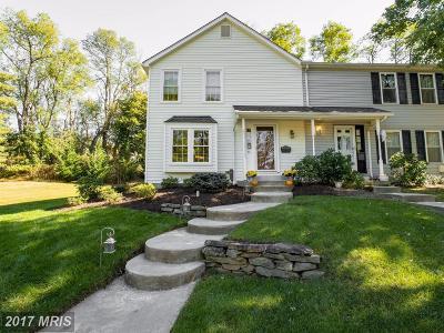 Cockeysville Townhouse For Sale: 61 Warren Comn