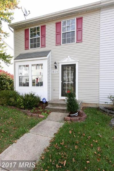 Pikesville Townhouse For Sale: 3939 Queens Lace Street