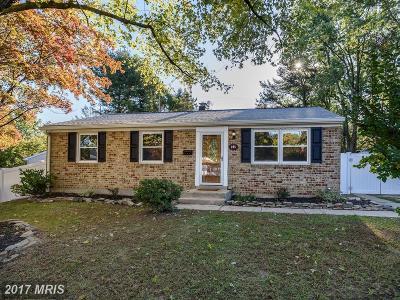 Single Family Home For Sale: 305 Glyndon Drive