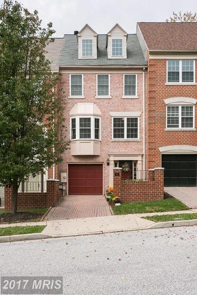 Owings Mills MD Townhouse For Sale: $290,000