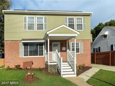 Baltimore MD Single Family Home For Sale: $275,000