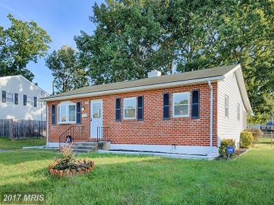 Baltimore Single Family Home For Sale: 529 Crisfield Road