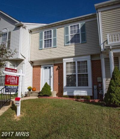 Townhouse For Sale: 4454 Kentford Road