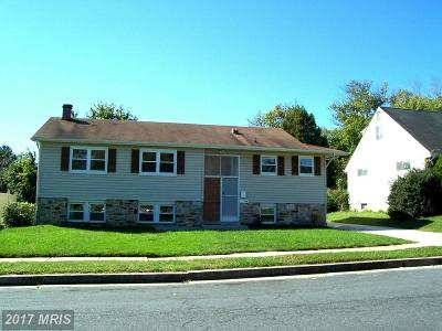 Randallstown Single Family Home For Sale: 3706 Eastman Road