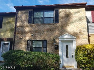 Townhouse For Sale: 9317 Fitzharding Lane