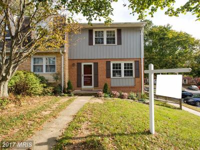 Reisterstown Townhouse For Sale: 349 High Knob Lane