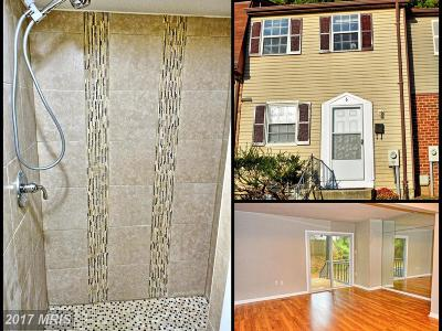 Owings Mills Townhouse For Sale: 6 Ritters Ridge Court